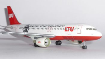 Airbus A320 LTU Germany Bayer 04 Leverkusen Livery Model Scale 1:200 550734 AE